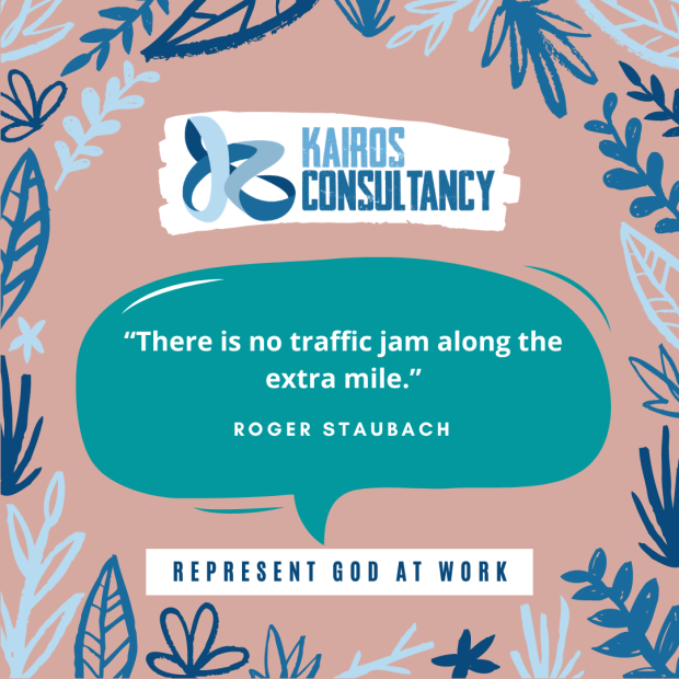Work Quotes: Roger Staubach. Kairos Consultancy Group. 2021.