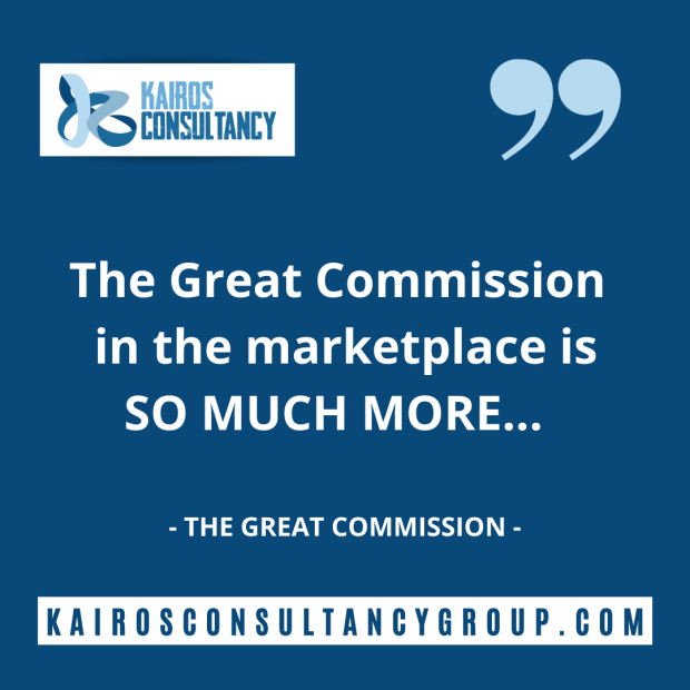Blog Archive: Great Commission. Kairos Consultancy Group. 2021.