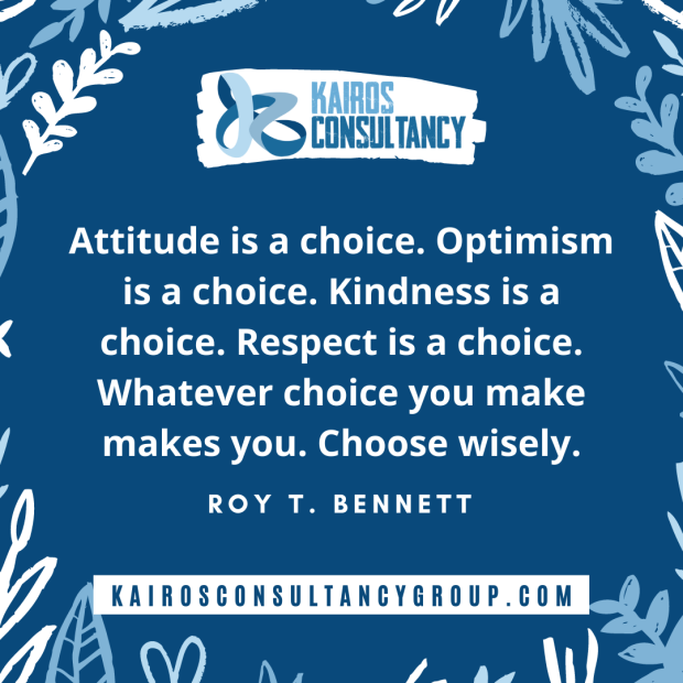 Work Quotes: Roy Bennett. Kairos Consultancy Group. 2021.